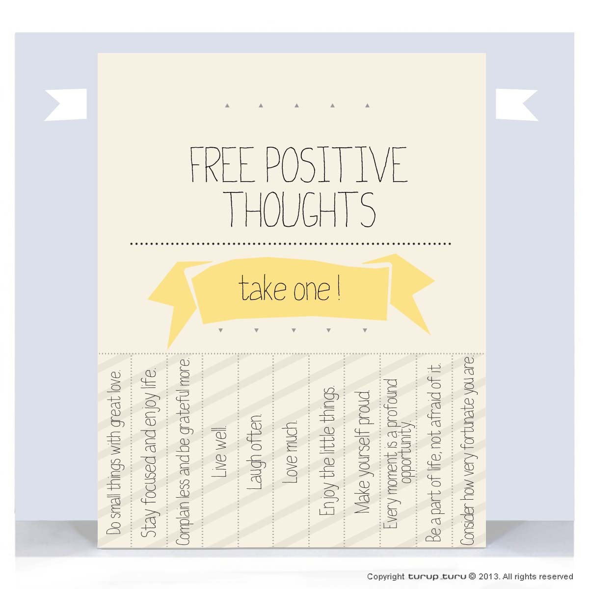 Free positive thoughts please take one.. | Life | Pinterest |Positive Thoughts Take One Daily